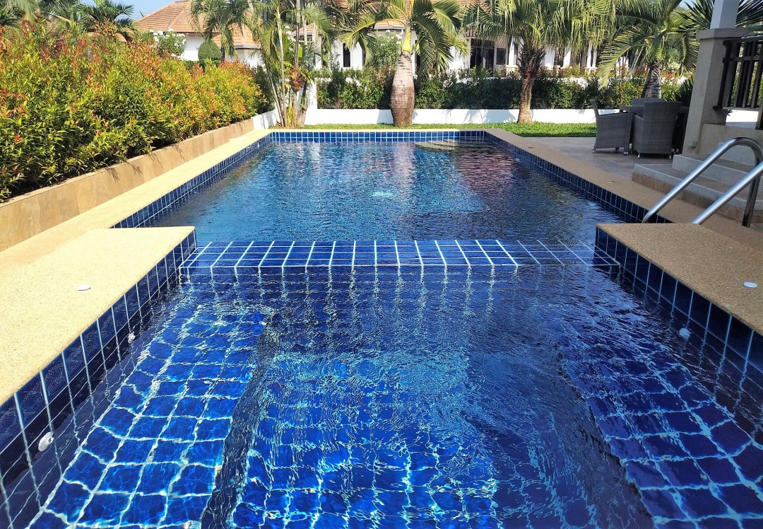 Private pool at Villa Busaba B1 in Manora Village, Hua Hin, Thailand