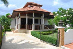 Exterior view of Villa Busaba B19 in Manora I village, Hua Hin, Thailand