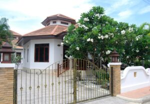Front exterior of Villa Natalie A6 in Manora Village, Hua Hin, Thailand
