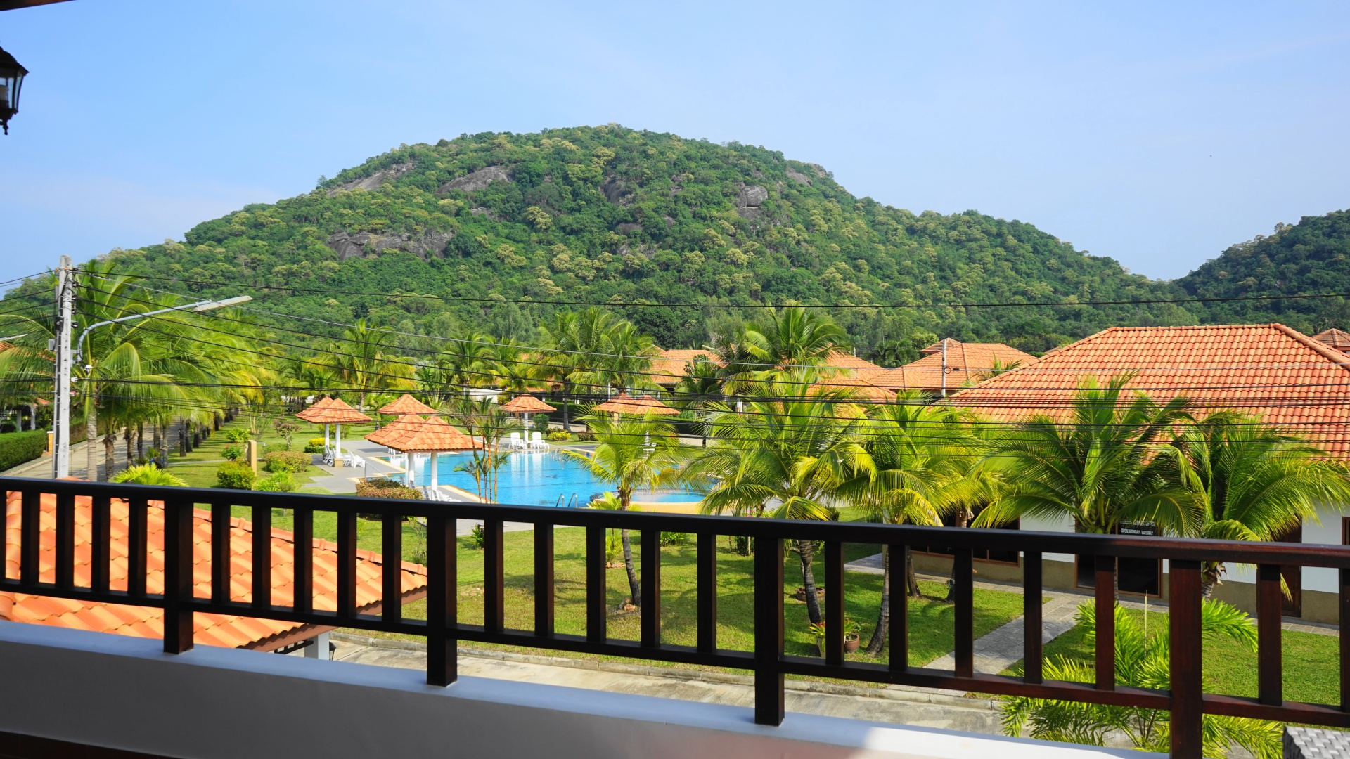 View from Villa Royale F3 in Manora Village III, Hua Hin, Thailand